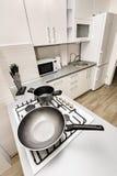 modern white för kök Royaltyfri Foto
