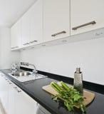 modern white för kök royaltyfri bild