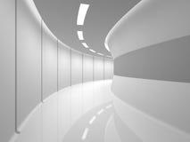 Modern white hall Stock Photos