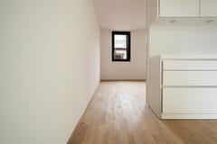 Modern white kitchen, detail Royalty Free Stock Photo
