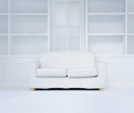 Modern white room Stock Photo