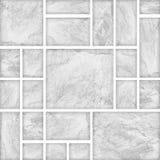 Modern white slab ,slat stone wall background Stock Image
