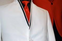Modern white tuxedo Stock Photography