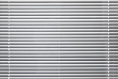 Modern white window blinds background texture Stock Photography