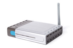 Modern WiFi Router Royalty Free Stock Photography