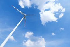 Modern wind energy power station Royalty Free Stock Image