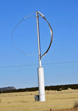 Modern Wind Generator. Modern Wind Generating Power Plant in New Mexico Stock Image