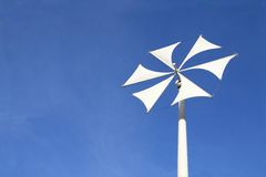 Modern wind turbines. Or wind mills Stock Photos
