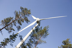 Modern Windmill Royalty Free Stock Image