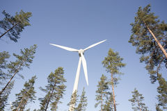 Modern Windmill Stock Images