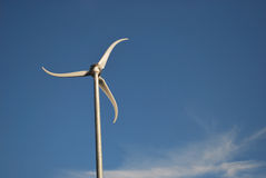 modern windmill Arkivbild