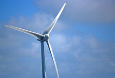 Modern windmill Stock Photography