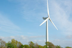 Modern Windmill Turbine, Wind Power royalty free stock photography