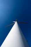 Modern Windmill Turbine, Wind Power, Green Energy Stock Image