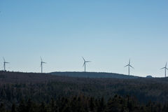 Modern Windmill Turbine, Wind Power, Green Energy royalty free stock images