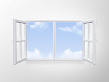 Modern Window Royalty Free Stock Photos