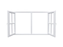 Modern Window Stock Photo