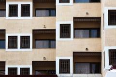 Modern windows and balconies Stock Photo