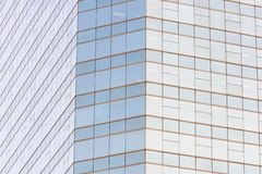 Modern windows of building in city. Stock Image