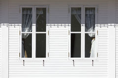 Modern Windows Exterior Royalty Free Stock Images