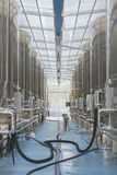 Modern wine factory Stock Photography