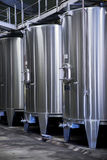 Modern wine production Stock Photo