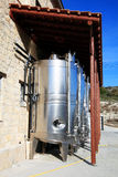 Modern wine vats Royalty Free Stock Images