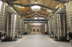 Modern Winery Royalty Free Stock Photography