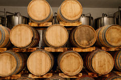 Modern Winery Stock Image