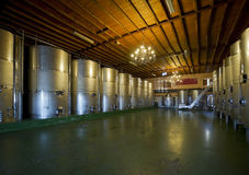 Modern winery, interior Stock Images