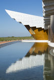 The modern winery of Ysios in Laguardia, Basque Country, Spain Stock Image