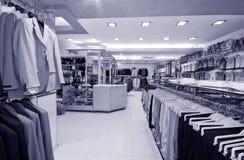 Modern winkelbinnenland Stock Fotografie