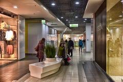 Modern winkelcentrum Royalty-vrije Stock Afbeeldingen
