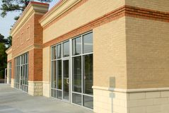 Modern Winkelcentrum Stock Afbeelding
