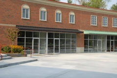 Modern Winkelcentrum Royalty-vrije Stock Foto's