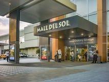 Modern Winkelcomplex Entrace Guayaquil Ecuador royalty-vrije stock foto