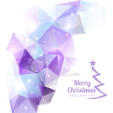 Modern winter abstract background Royalty Free Stock Image