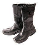 Modern winter female boots Royalty Free Stock Photos