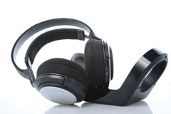 Modern Wireless Headphones Stock Images