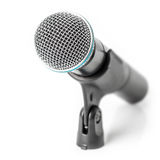 Modern wireless microphone Royalty Free Stock Photography