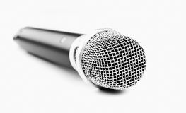 Modern wireless microphone Royalty Free Stock Photos