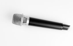 Modern wireless microphone Stock Photography