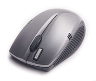Modern wireless pc mouse Royalty Free Stock Photo