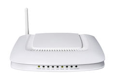 Modern wireless router. From my objects series Stock Images