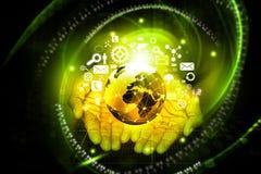 Modern wireless technology Royalty Free Stock Image