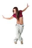 Modern woman dancer Royalty Free Stock Photography