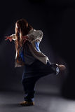 Modern woman dancer Royalty Free Stock Images