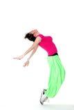 Modern woman dancer Stock Image