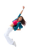 Modern woman dancer dancing pose Stock Images