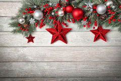 Modern wood background for Christmas Royalty Free Stock Image